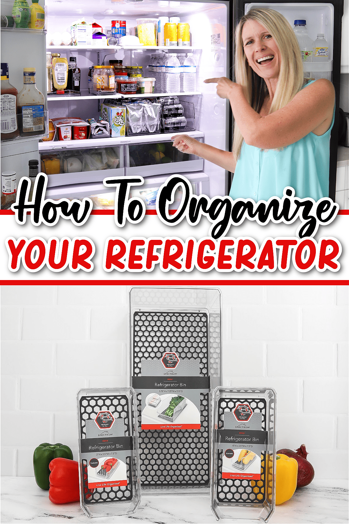 How To Organize Your Refrigerator Pin