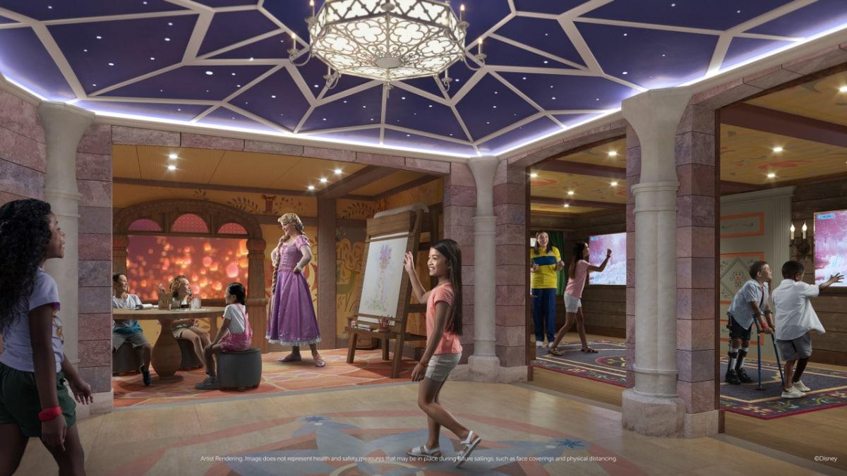 Fairytale Hall in the Oceaneer Club