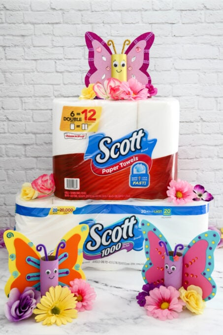 Scott Toilet Tissue and Paper Towels