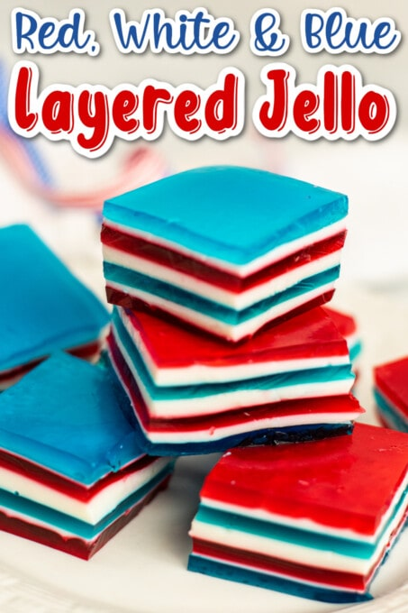 Red White And Blue Jello Pin 1