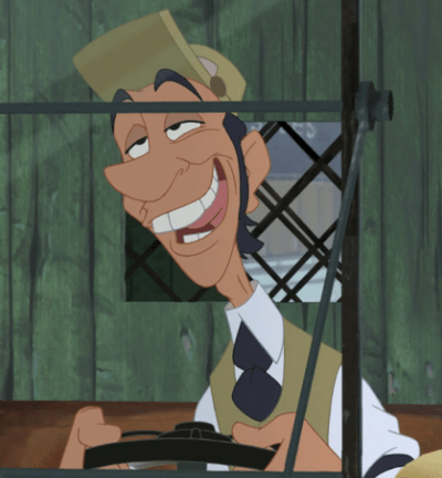 The dogcatcher from Lady And The Tramp
