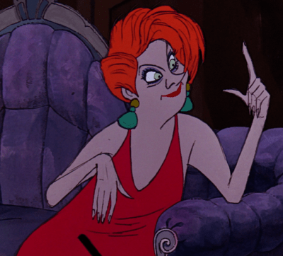 Madame Medusa from The Rescuers