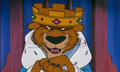 Prince John from Robin Hood