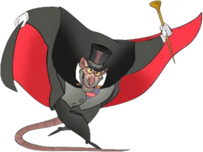 Professor Ratigan from The Great Mouse Detective