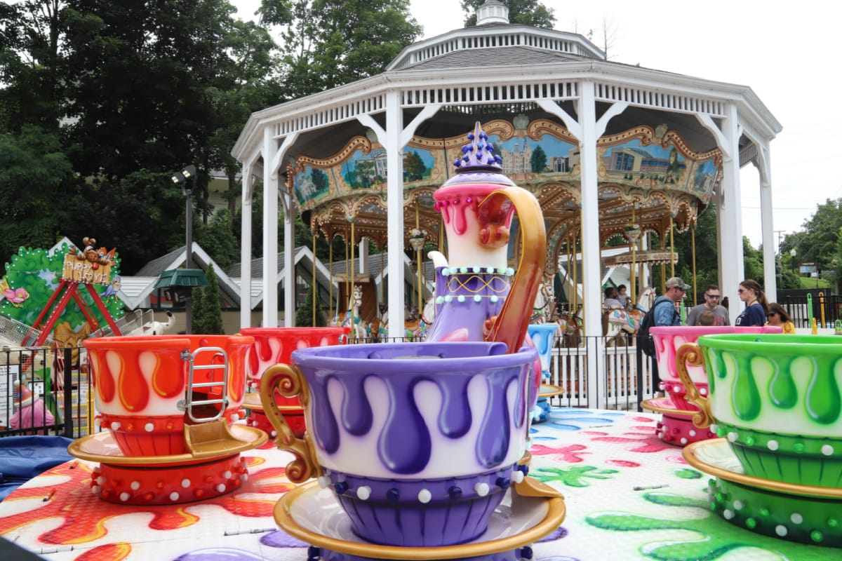Amusement park in Lake George Village New York