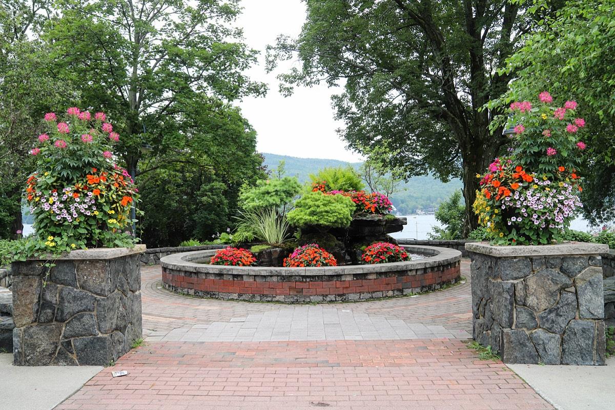 Garden in Lake George Village