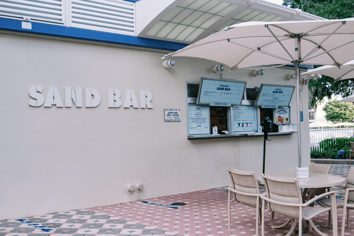 The Sand Bar at the Contemporary Hotel
