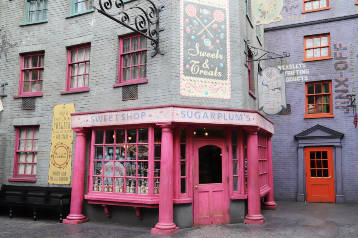 Sugarplums Sweet Shop at Universal Studios