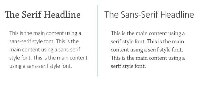 sanserif-serif-font