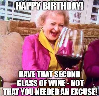 20 Funny Birthday Wishes With Wine Funny Birthday Wishes
