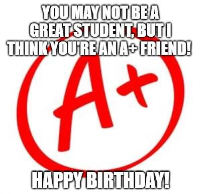 20 Funny Birthday Wishes For Students Funny Birthday Wishes