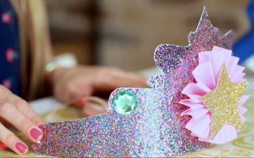 تاج اصلی برای دختران سال نو 2020 این را خودتان انجام دهید - 57 عکس از ایده ها