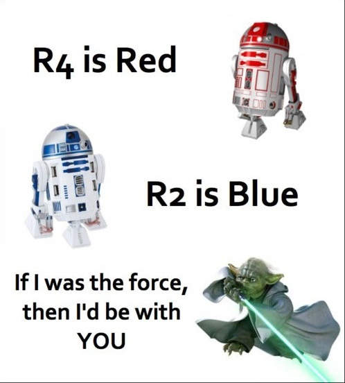 Star Wars Geek Love Poem Funny Pictures Quotes Memes