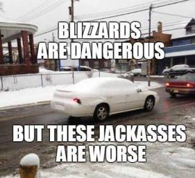 A funny car meme yes, but this is an issue that is dangerously silly.