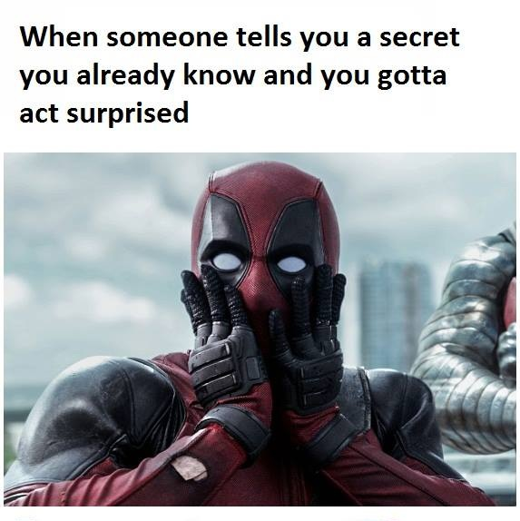 Gotta Act Surprised Funny Pictures Quotes Memes Jokes