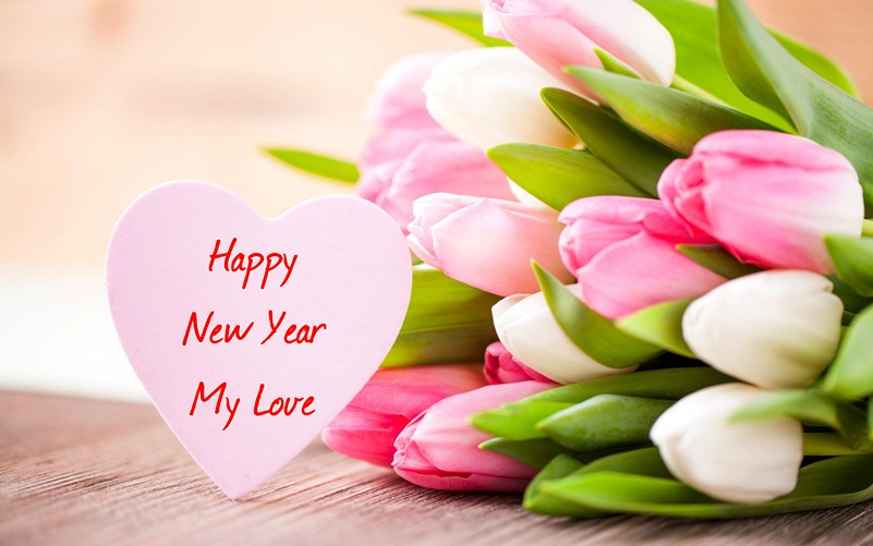Beautiful Happy New Year 2019 flowers Picture For Lovers   Funnyexpo Beautiful Happy New Year 2018 flowers Picture For Lovers