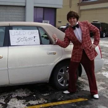 Used Car Salesman Costume Rental Stoner S Funstore In Downtown