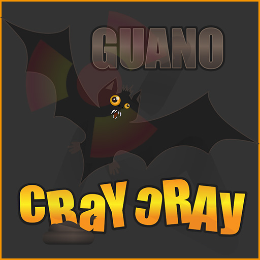 The Guano Cray Cray is batshit crazy graphic design.