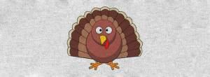 Funny Thanksgiving t-shirts with funny turkey image.