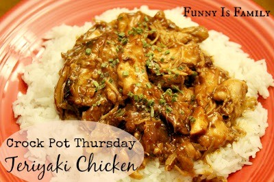 We loved this Crockpot Teriyaki Chicken! If you're looking for a crockpot chicken recipe the whole family will enjoy, this is for you!