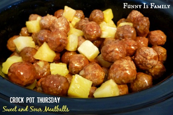 These Easy Crockpot Sweet and Sour Meatballs are my go-to appetizer. It's an incredibly easy recipe and everyone loves it!