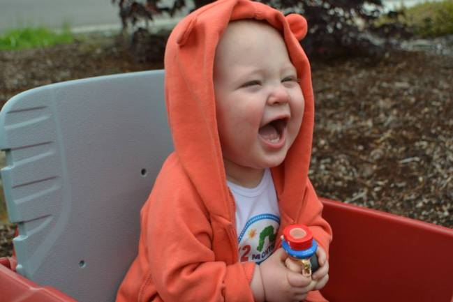 A Father's Observations on baby's first year.