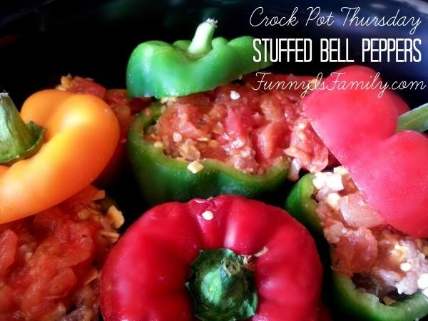 Crock Pot Stuffed Bell Peppers