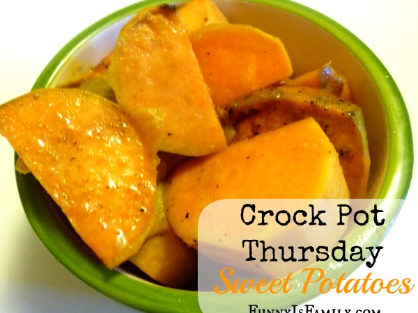 You'll love these delicious slow cooker sweet potatoes!