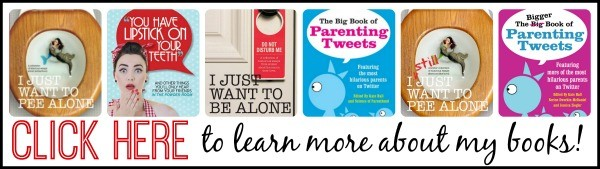A hilarious collection of books, perfect for the moms in your life!