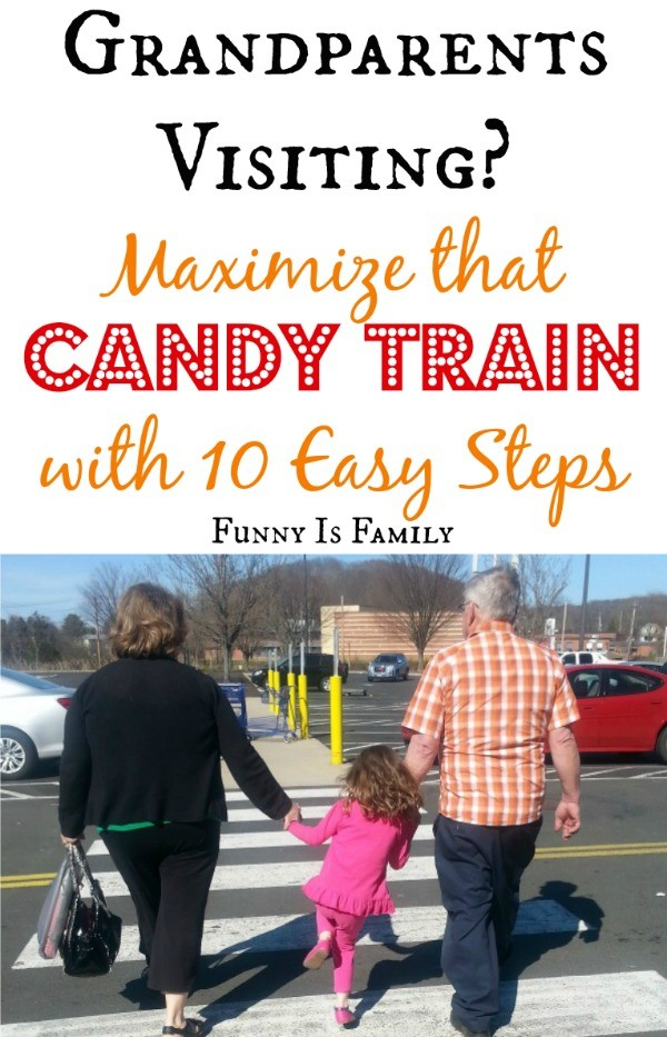 Tips and tricks for kids to milk a visit from Grandma for all it's worth! We're talking candy, books, and all sorts of fun kid activities!