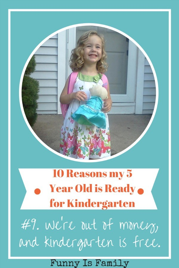 10 Ways I Know my Kid is Ready for Kindergarten