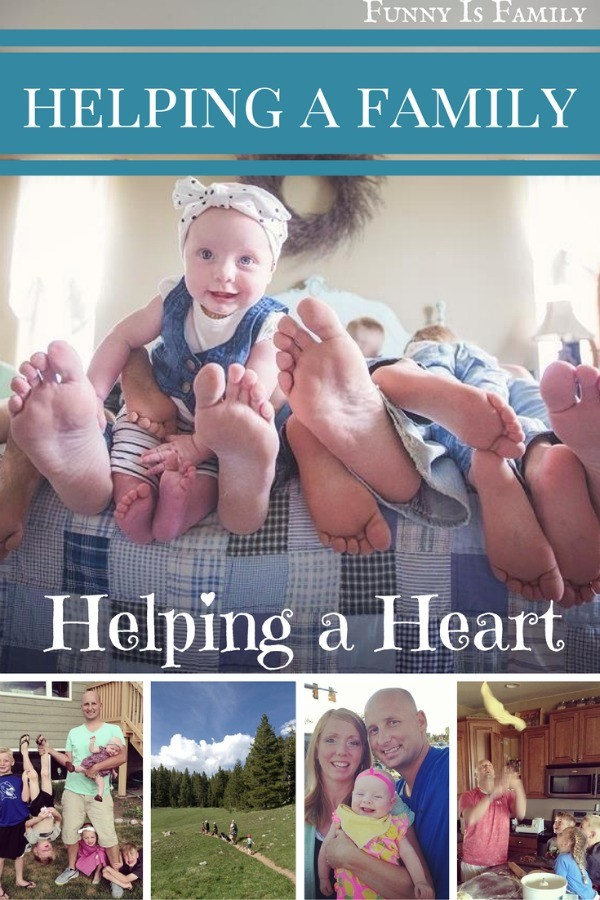 Helping a family, helping a heart.