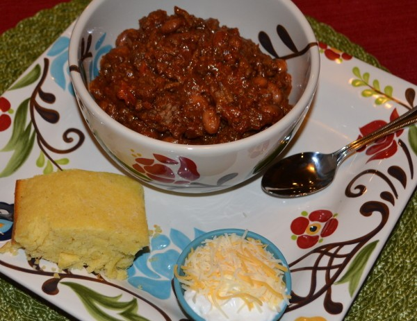This crockpot chili is my favorite chili recipe EVER. It's a great meal for dinner or a party food, and your family will love it!