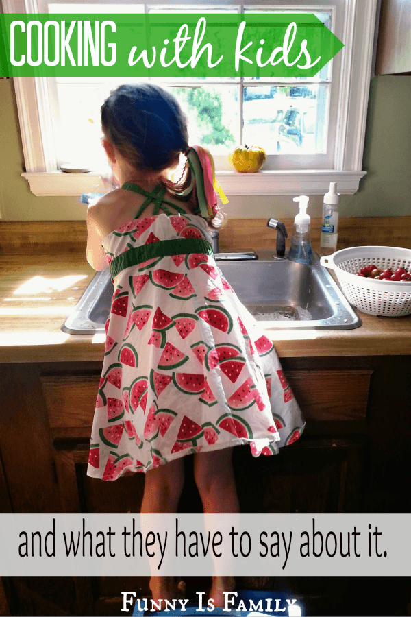 Have you ever asked your kids how their favorite recipes are prepared? Cooking with kids teaches important life lessons, and can be hilarious!