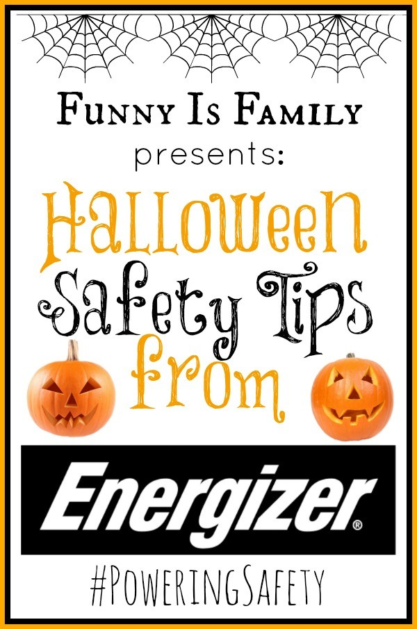 Halloween safety tips from @FunnyIsFamily and @Energizer. #PoweringSafety