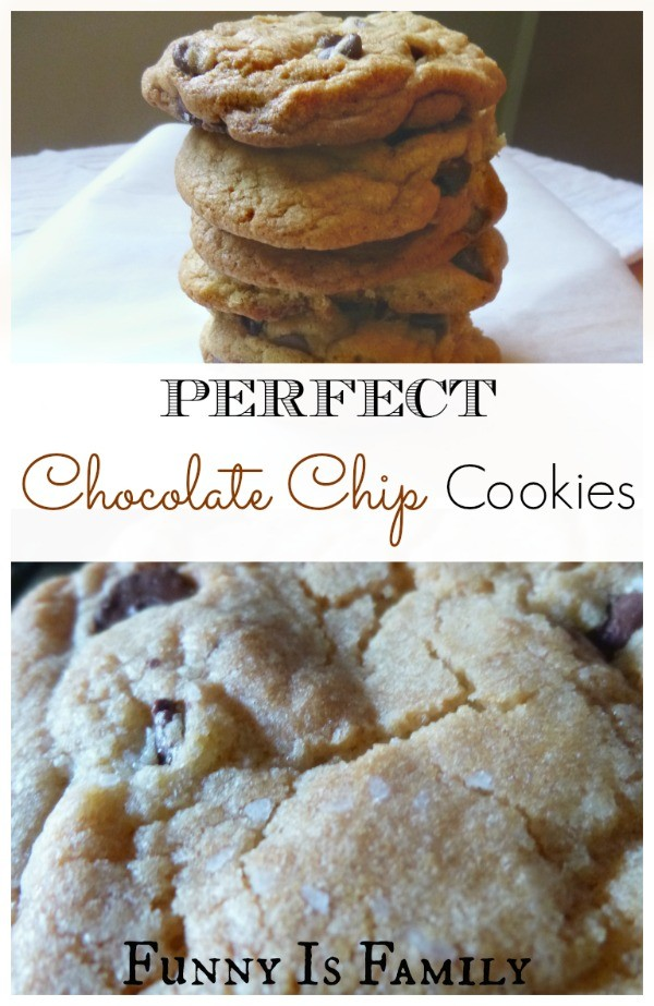 This chocolate chip cookie recipe makes the very best cookies in the world!