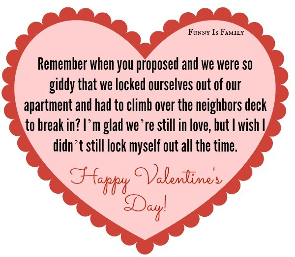 Hilarious Valentine's Day cards for real couples!