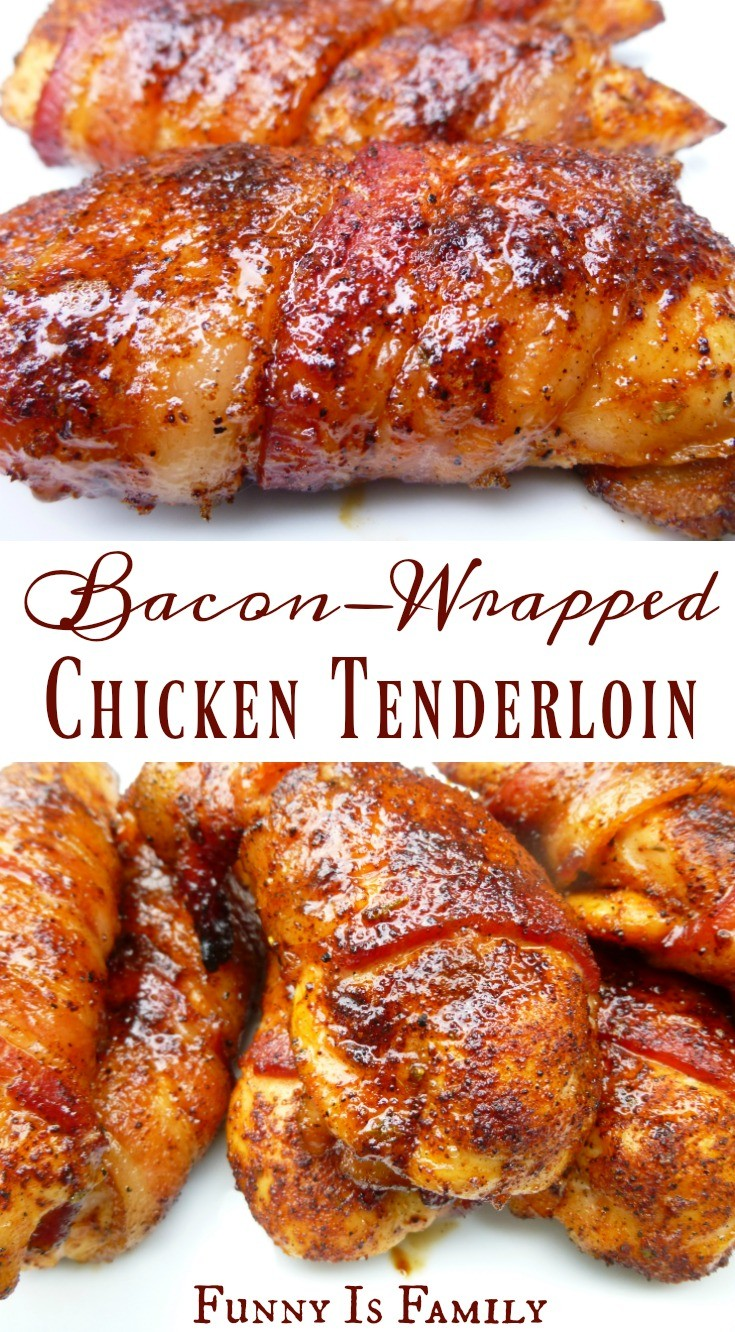 This Baconwrapped Chicken Tenders Recipe Is As Moist And Delicious As It  Looks!