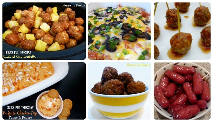 Parties and holidays are made simple with these delicious Crockpot Appetizers!