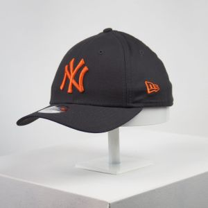 Gorra de niño New Era 9forty Youth NY Yankees negro y naranja