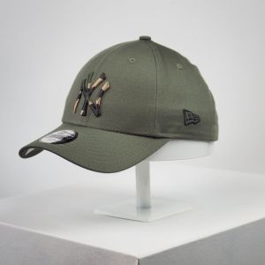 Gorra de niño New Era 9forty Youth NY Yankees camuflaje verde niña