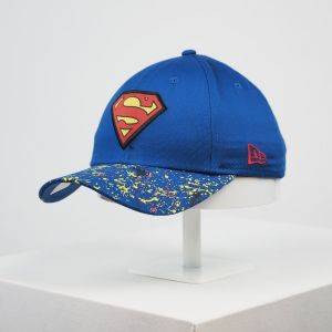 Gorra niño New Era 9forty Youth Superman visera pintura
