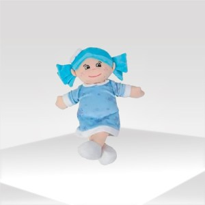 muñeca azul para bebé | blue doll for baby