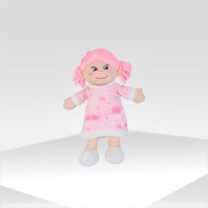 pink doll for baby or kid | muñeca rosa infantil