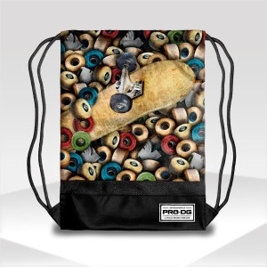Gymsack bag PRO DG WHEELS | Skate Fashion Backpacks