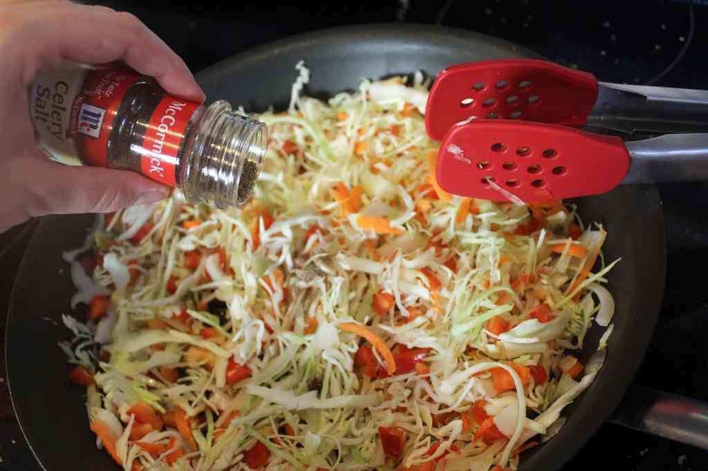 Add celery seed and turmeric