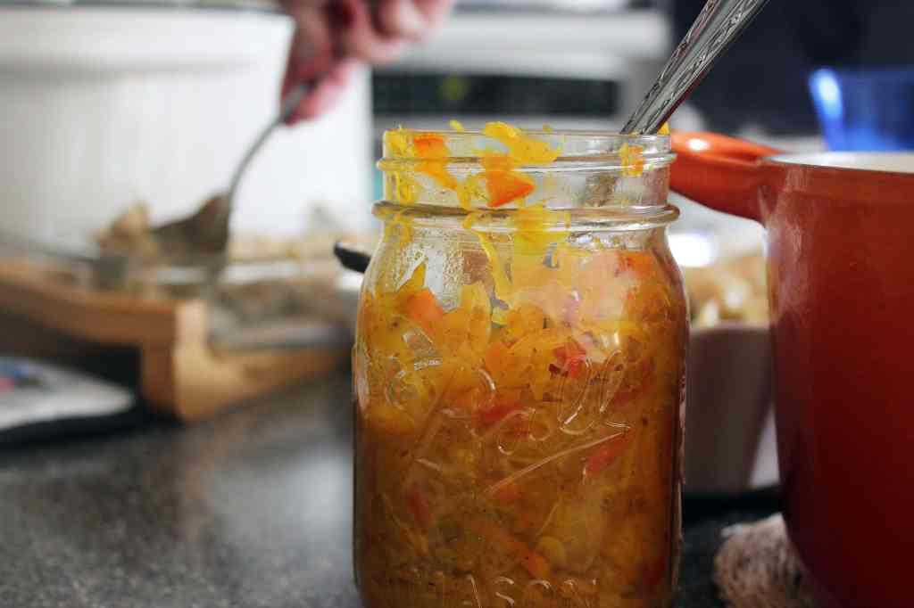 Serve from a cute jar