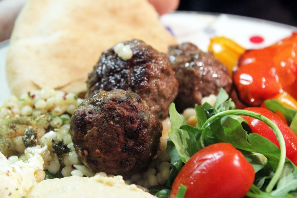 Meatballs with meal