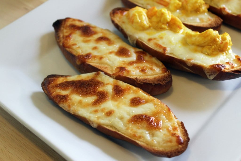Plain Cheese Crostini