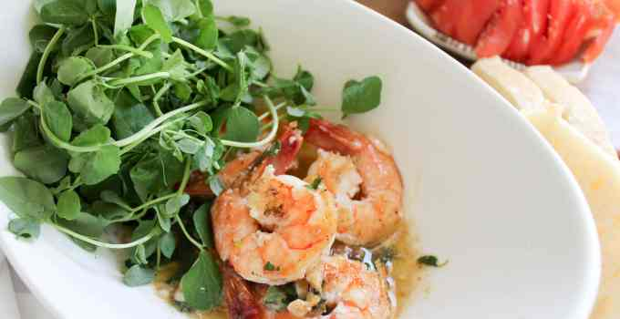 Herbed Shrimp Butter Bowls